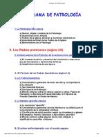 Apuntes de Patrología 1
