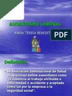 AUSENTISMO LABORA