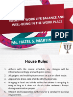 Issues of Work Life Balance Updated