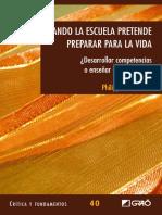 Cuando la escuela pretende preparar para la vida - Philippe Perrenoud.pdf