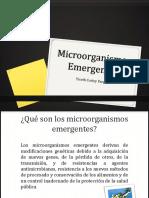 Microorgaismos Emergentes