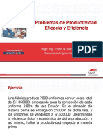 Problemas de Produccion y Productividad