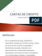 4. Cartas de Credito