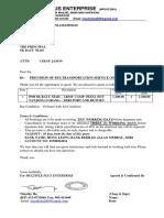 Lawatan Asrama 2019 - Transportation Quotation - 23092019