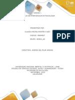 PRETAREA MODELOS DE INTERVENCION EN PSICOLOGIA