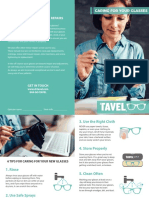 Caring For Your Glasses Brochure
