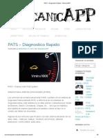 Passive Anti Theft System (PATS) – Diagnostico Rapido –.pdf
