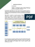 Documento de Caracterización Industria de Vehículos