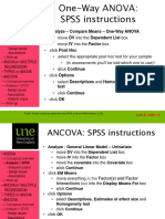 Instructions for Running ANOVAs in v25 of SPSS - Print Before Beginning 82278422