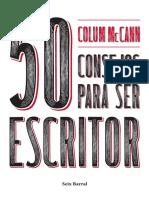Adelanto 50 Consejos Para Ser Escritor