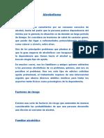Informe Alcoholismo AÑO 2019