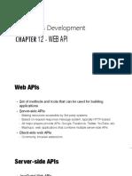 Ch 12 - Web APIs