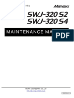 SWJ320S Maintenance Manual D500764 Ver1.40