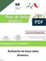 bases de datos dinamicas