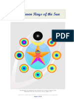 Proposition 1 the Seven Rays of the Sun