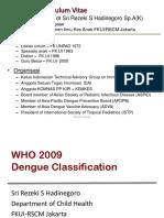 WHO 2009 Dengue Classification
