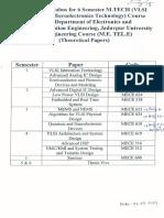 M.Tech VLSI Syllabus