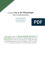 Freitag 2012 Einfuehrung in Die Morphologie