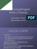 Gastroesophageal Reflux Disease