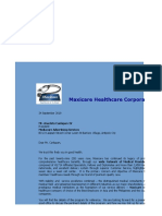 2018 - Boxed Type Comprehensive Maxicare Proposal - Mediacore Advertising Services