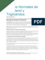 Niveles Normales de Colesterol y Triglicéridos.docx