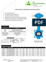 BS Wafer Butterfly Valves