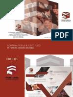 Company Profile & Porto Folio for Esmod