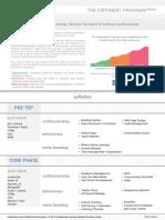 TEP Product Engineering Syllabus