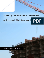 200 Questions and Answers on Practical Civil Engineering Works-1