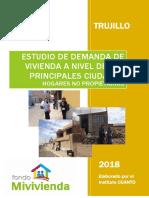 29. Estudio de Demanda de Vivienda Nueva de Trujillo
