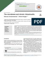 The Microbiome and Chronic Rhinosinusitis
