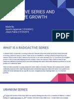 Radioactive Series and Successive Growth