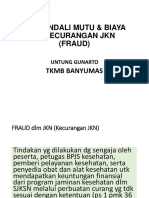 Ppt. TKMB Dan Fraud Fix