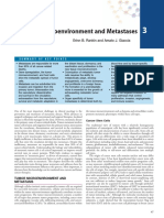 Cellular Microenvironment and Metastases