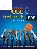 Handbook of Public Relations, 10E by Chris Skinner