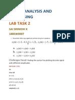 Da2 Signal Analysis