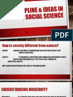 Discipline & Ideas in Social Science