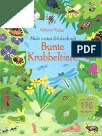 Bunte Krabbeltiere
