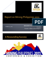 Report on Mining in the Philippines 2011