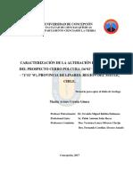 Tesis Caracterizacion de La Alteración Hidrotermal