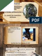 PRESENTACION CATEDRA MORAZANICA.