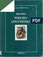 Gosy Maria Pszicholingvisztika 1.1