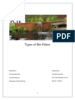 Types of bio filters