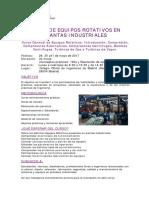 Guía equipos rotativos Asignatura