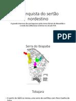 A Conquista Do Sertão Nordestino