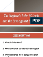 The Magician's Twin Guide Questions