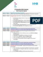 Draft Agenda - National Smart Cities Expo & Conference, 8th Nov 2019, Varanasi