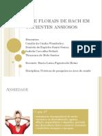 O Uso de Florais de Bach Em Pacientes