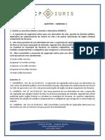 CP Iuris - AMBIENTAL v - Questoes Comentadas
