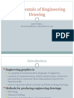 Lecture 1- Fundamentals of Engineering Drawing